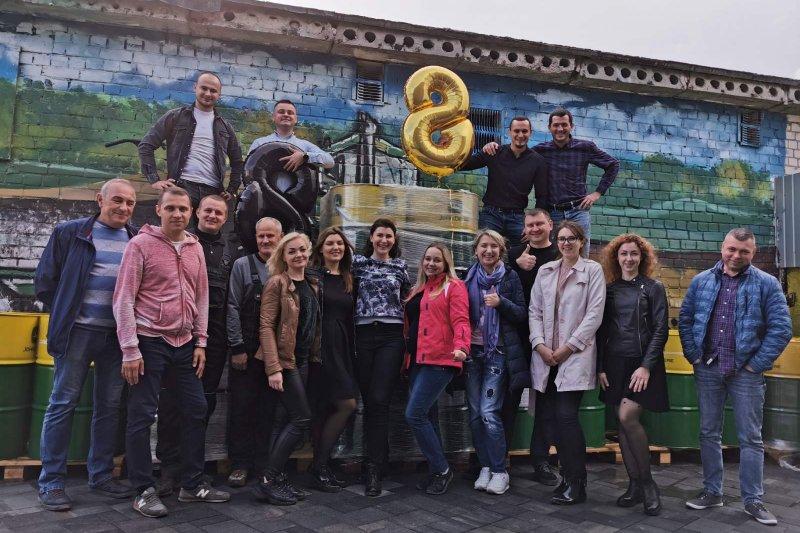 8-я годовщина ООО «Агровест Украины»