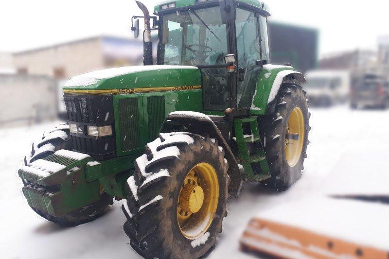 Продажа трактор John Deere 7600 б / у